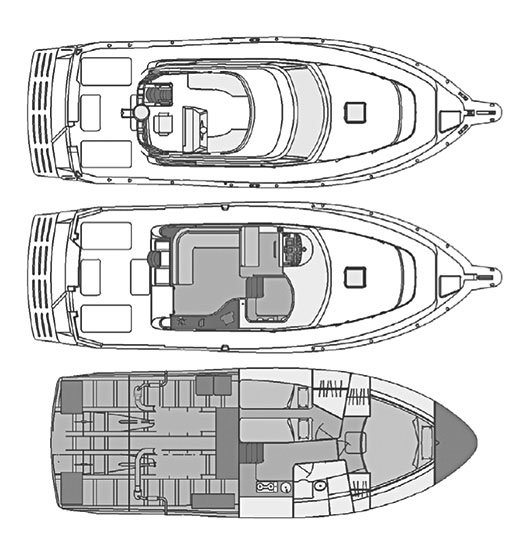 Rodman Fisher & Cruiser 1250 Plano