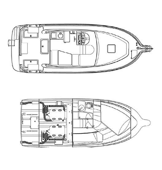 Rodman Fisher & Cruiser 940 Plano