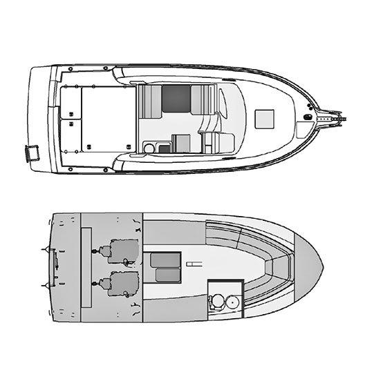Rodman Fisher & Cruiser 810 Plano
