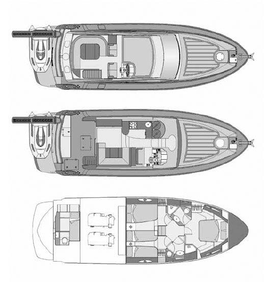 Embarcación Rodman Muse 50 esquema