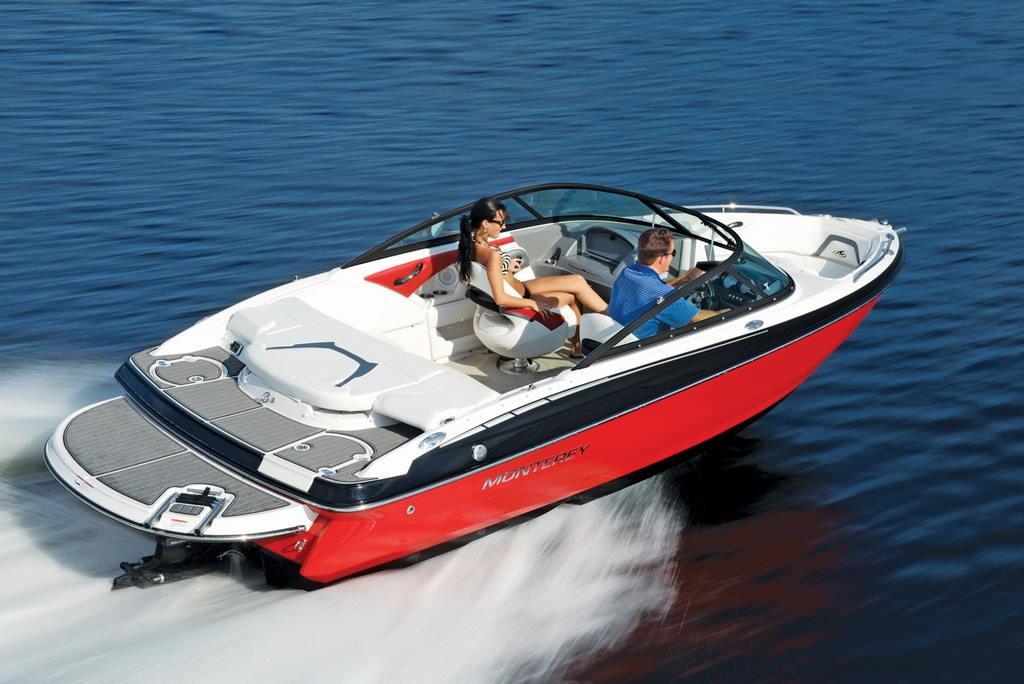 Monterey Sport Boat 204FS