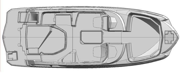 Monterey Sport Boat M4 Plano