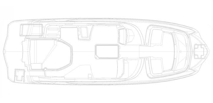 Monterey Sport Boat M6 Plano