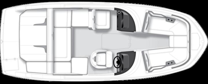 Monterey Sport Boat M22 plano