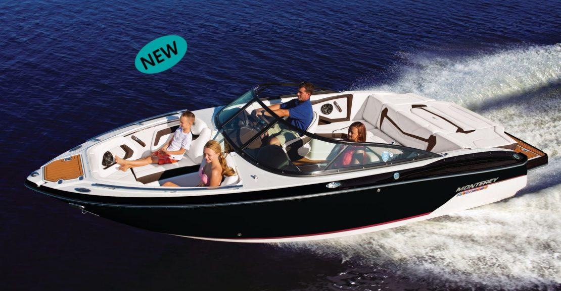 Lancha Monterey 238 SS nueva en venta