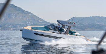 Fiart 39 seawalker. Elegante diseño funcional y muy optimizado.